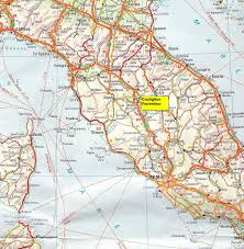 Norcia Italy Map by Map Of Central Italy Greece Map