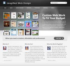web page design rebuilding this portfolio site imagined web design