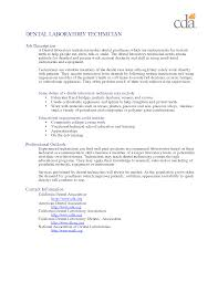 Veterinarian Resume Examples Resume For Dental Technician Resume For Your Job Application