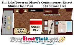 disney bay lake tower floor plan photo tour of a second bedroom at a dedicated two bedroom villa at