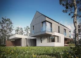 modern single family house on behance
