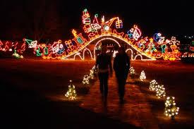 christmas lights train ride oklahoma city family events calendar okc kids activities