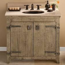 Cheap Bathroom Vanity Ideas Wonderful 25 Best Rustic Bathroom Vanities Ideas On Pinterest Barn