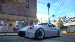 nissan 370z stance gta gaming archive