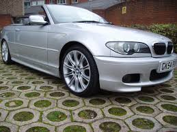 bmw 3 convertible for sale used 2004 bmw 3 series 325i m sport convertible auto for sale in