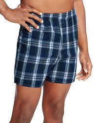 s boxers tartan solid printed and more hanes