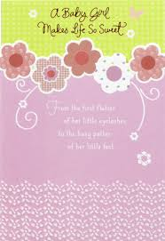 baby girl cards pink flowers and swirls baby girl congratulations card greeting