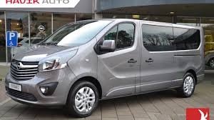 opel vivaro 2017 opel vivaro innovation dub cabine 1 6 cdti 145pk full option youtube