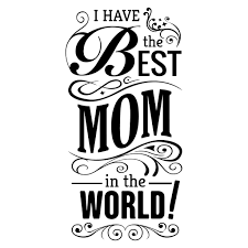 mothers day quote with ornaments transparent png svg vector