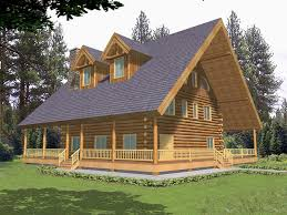 trotting trail luxury log home plan 088d 0052 house plans and more