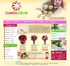 Flower Store Flower Shop Templates Professional Design By Easy Branches