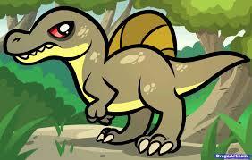 draw dinosaur step step kids draw
