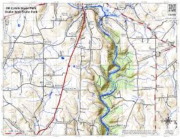 Pennsylvania State Parks Map by Map Oil Creek State Park U2013 Drake Well State Park U2013 Andy Arthur Org