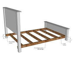 Bed Frame With Headboard And Footboard Metal Frame With Headboard And Footboardrackets Hooks For