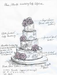 A Wedding Cake How To Draw A Wedding Cake Wedding Cake Ideas