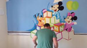 disney babies mural time lapse by drews wonder walls youtube disney babies mural time lapse by drews wonder walls