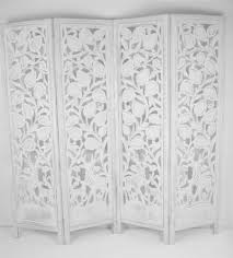 Room Divider Screens Amazon - 4 panel carved indian stag deer screen wooden screen room divider