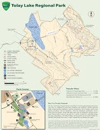 Map Of Sonoma County Tolay Lake Regional Park Map