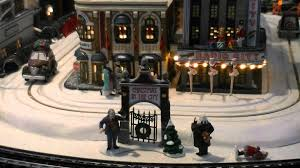 department 56 in the city display 07