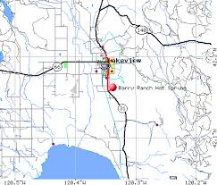 map of oregon springs barry ranch springs