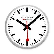 Wall Clock Small Swiss Railway Wall Clock Moma Design Store