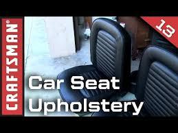 Change Car Upholstery Car Upholstery Repair Diy
