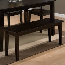 Dining Table 4 Chairs And Bench Jofran 552 60 552 14kd 4x552 319kd Simplicity Espresso 6 Piece