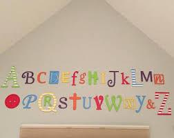 Decorative Letters For Walls Alphabet Decor Etsy
