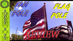 Hitch Flag Fan Pole Hitch Receiver Flag Pole Review U0026 Test Drive Youtube