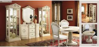 italian dining room sets rosella classic italian dining room set