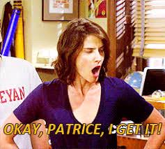 Patrice Meme - robin yelling damn it patrice gif google search couch potato
