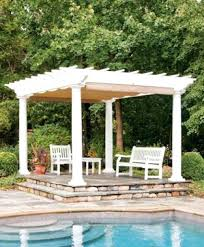 steel pergola frame metal with canopy modern 30164 interior decor