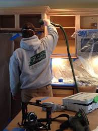 professional spray painting kitchen cabinets kitchen cabinet painting montgomery county pa nolan