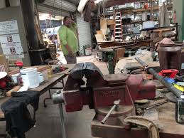 Woodworking Machinery Show Las Vegas by Crafting Reclaimed Lumber A Labor Of Love For Las Vegas Resident