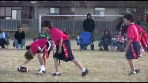 Coed Flag Football League Youth Flag Football U11 Tournament Youtube