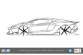 lamborghini car drawing revozport lamotta lp900 aventador aventador revozsport lamotta 11