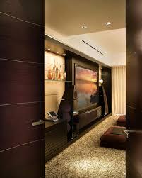 room modern media room home decor color trends top on modern