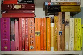 bookshelf rainbow musings of a literary dilettante u0027s blog