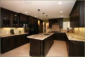 Cream Colored Kitchen Cabinets With Dark Island Modern Cabinets - Kitchen colors with cream cabinets