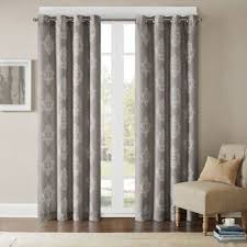 buy grey grommet curtains from bed bath u0026 beyond