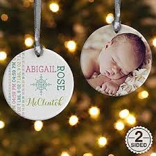 personalized baby christmas ornament so personalized baby christmas ornament upload one of