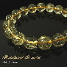 bracelet crystal string images Imore rakuten global market rutile quartz bracelet 11 5mm jpg