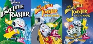 The Little Toaster Goes To Mars Brave Little Toaster Complete 3 Disney Movie Collection Box Dvd