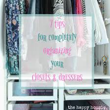 Organizing A Closet by 7 Tips For Completely Organizing Your Closet And Dresser The