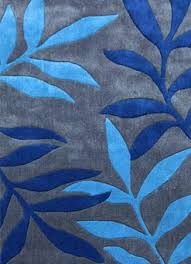 Designer Modern Rugs Blue Contemporary Rugs Fearsome Designer Floor Rug Blue Blue And