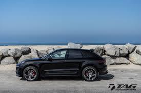 Porsche Macan Black Wheels - techart formula iv wheels for porsche macan 21