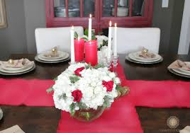 holiday table settings domestic charm