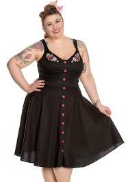 hell bunny lulu retro plus size dress attitude clothing
