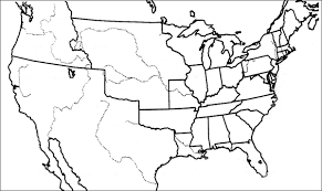 empty usa map precolonial best of history web imagequiz map of the united