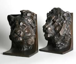 lion bookends lion bookends and beginnings evanston florist home and design